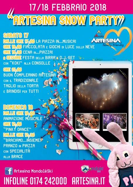 Artesina Snow Party